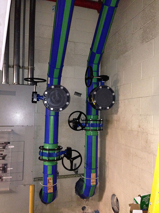 Air Conditioning and Chilled Water Piping System Installation
