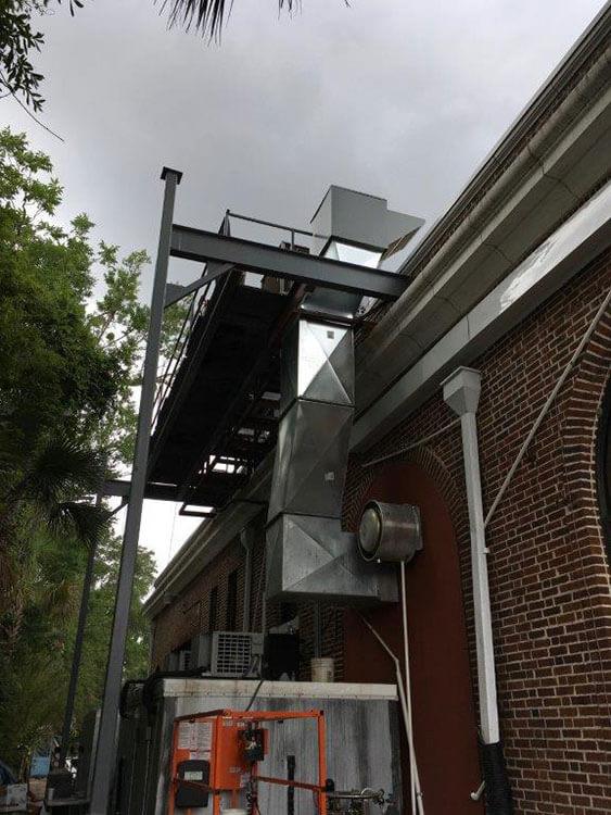 Heating, Ventilation, and HVAC System - Restaurant